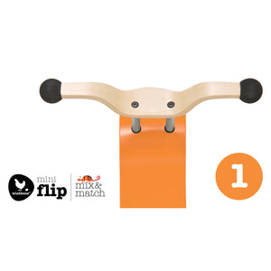 Wishbone Mini-Flip Top Orange