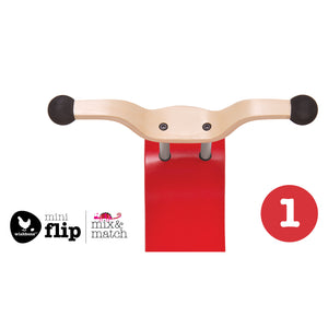 Wishbone Mini-Flip Top Red