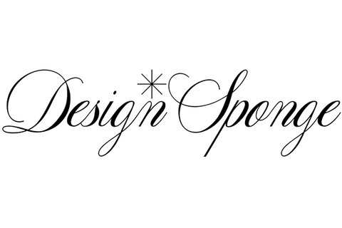 Design Sponge Black and White Logo
