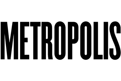 Metropolis Industrial Design Magazine black and white Logo
