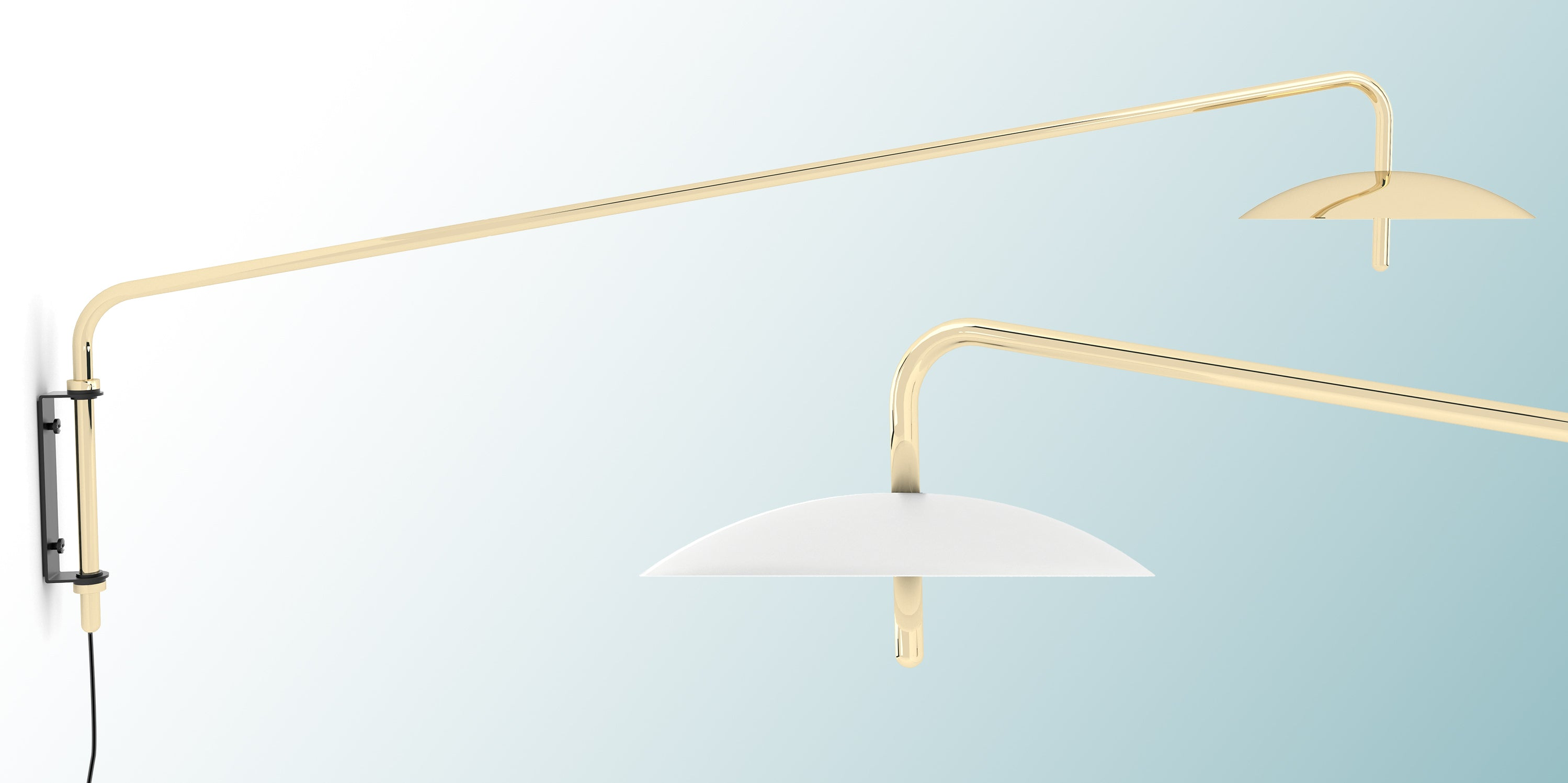 Signal Arm Sconce by Shaun Kasperbauer for Souda