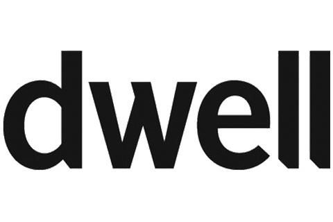 Dwell Magazine Blog Store black and white Logo