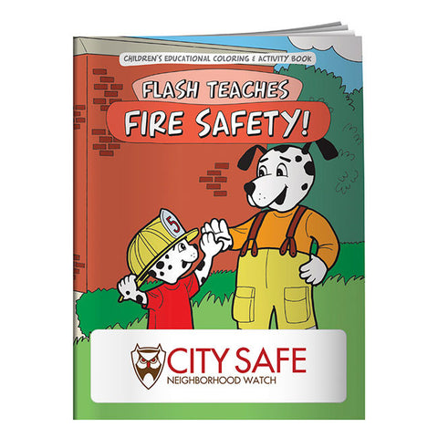 Coloring Book: Flash Teaches Fire Safety 20626