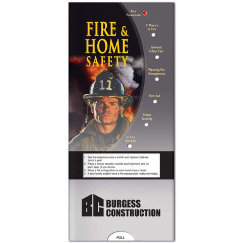 Pocket Slider: Fire & Home Safety 20680
