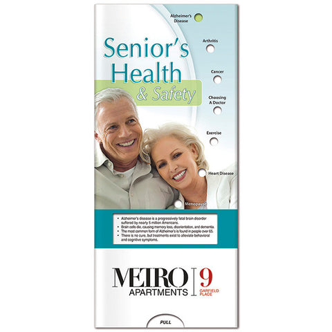 Pocket Slider: Senior's Health & Safety 20685
