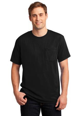 JERZEES® -  Heavyweight Blend™ 50/50 Cotton/Poly Pocket T-Shirt.  29MP