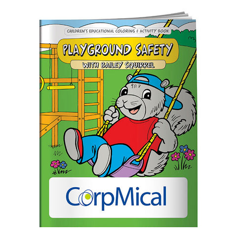 Coloring Book: Playground Safety 40642