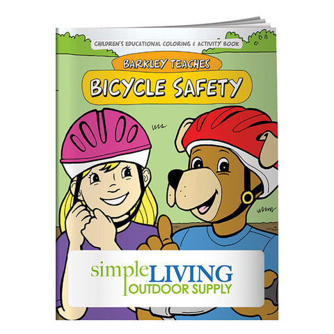 Coloring Book: Bicycle Safety 40643