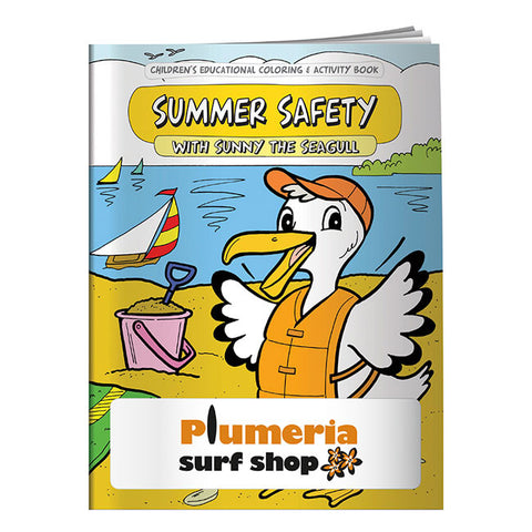 Coloring Book: Summer Safety 40645