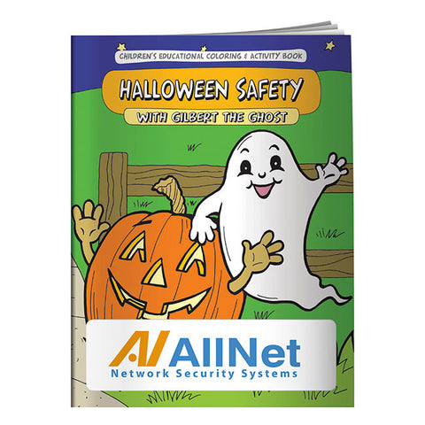 Coloring Book: Halloween Safety 40664