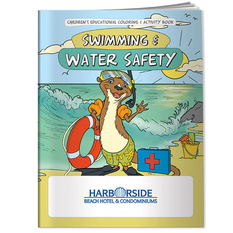 Coloring Book: Swimming & Water Safety 40934