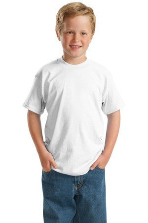 Hanes® - Youth ComfortBlend® EcoSmart® 50/50 Cotton/Poly T-Shirt.  5370