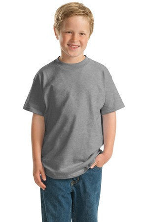 Hanes®  -  Youth Beefy-T® Born to Be Worn 100% Cotton T-Shirt.  5380