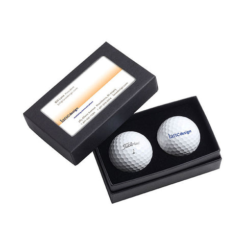 Titleist® 2-Ball Business Card Box - DT® SoLo 60762