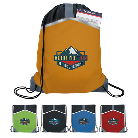 Safety Drawstring Backpack AP5006