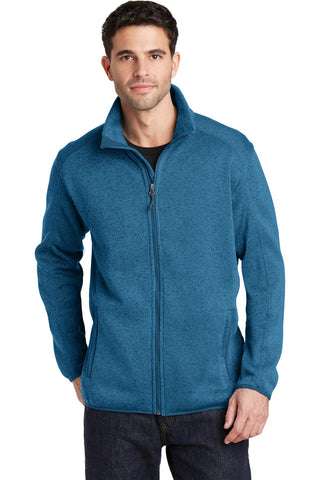 Port Authority® Sweater Fleece Jacket. F232