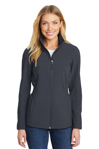 Port Authority® Ladies Cinch-Waist Soft Shell Jacket. L334