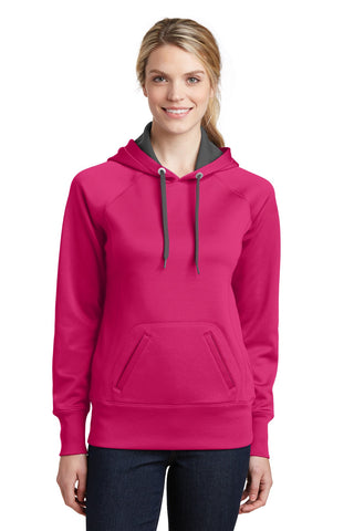 Sport-Tek® Ladies Tech Fleece Hooded Sweatshirt. LST250