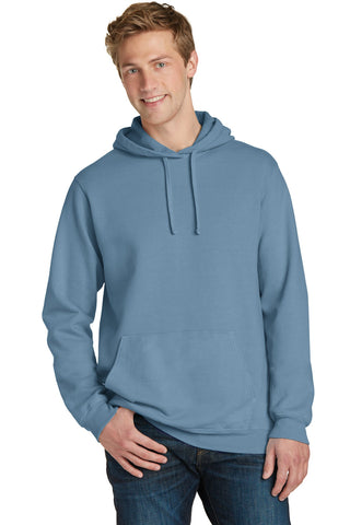 Port & Company® Essential Pigment-Dyed Pullover Hooded Sweatshirt. PC098H
