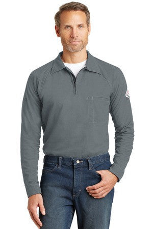 Bulwark® iQ Long Sleeve Polo. QT12
