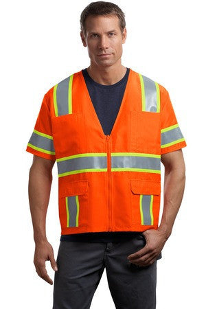 CornerStone® - ANSI 107 Class 3 Dual-Color Safety Vest. CSV406