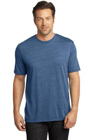 District Made™ - Mens Textured Crew Tee. DM370