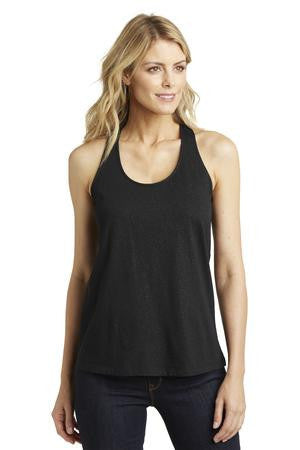 District Made™ Ladies Shimmer Loop Back Tank. DM455