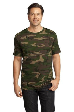 District Made™ Mens Perfect Weight® Camo Crew Tee. DT104C