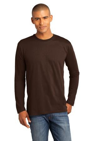 District Made™ Mens Perfect Weight® Long Sleeve Tee. DT105