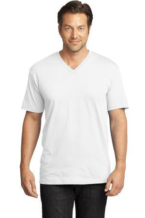 District Made™ Mens Perfect Weight® V-Neck Tee. DT1170