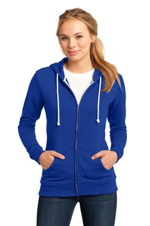 District® - Juniors Core Fleece Full-Zip Hoodie DT290