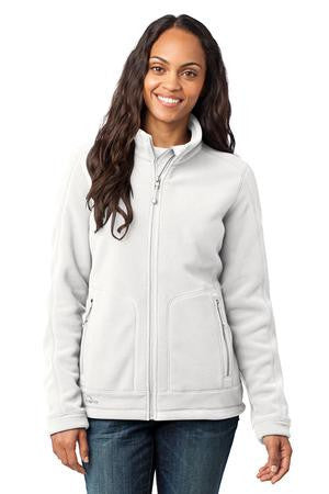 Eddie Bauer® - Ladies Wind Resistant Full-Zip Fleece Jacket. EB231