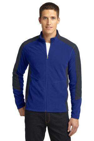 Port Authority® Colorblock Microfleece Jacket. F230