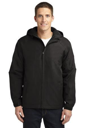 Port Authority® Hooded Charger Jacket. J327