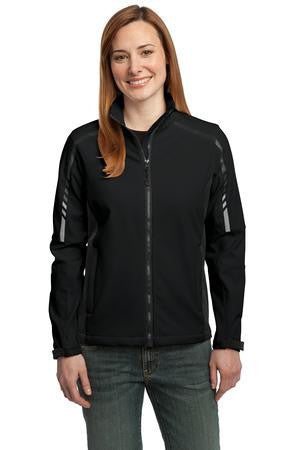 Port Authority® Ladies Embark Soft Shell Jacket. L307