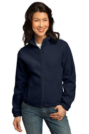 Port Authority® Ladies R-Tek® Fleece Full-Zip Jacket.  LP77