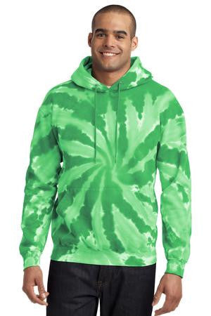 Port & Company® Essential Tie-Dye Pullover Hooded Sweatshirt. PC146
