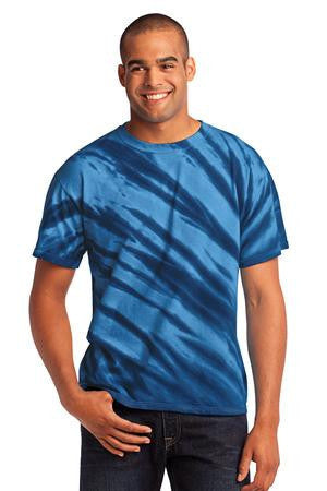 Port & Company® - Essential Tiger Stripe Tie-Dye Tee. PC148