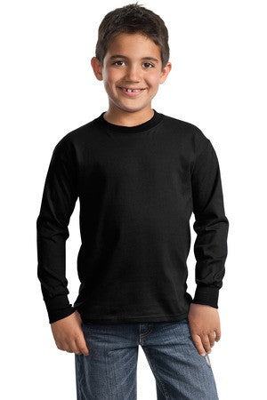 Port & Company® - Youth Long Sleeve Essential T-Shirt. PC61YLS
