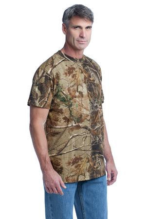 Russell Outdoors&8482; - Realtree® Explorer 100% Cotton T-Shirt with Pocket. S021R
