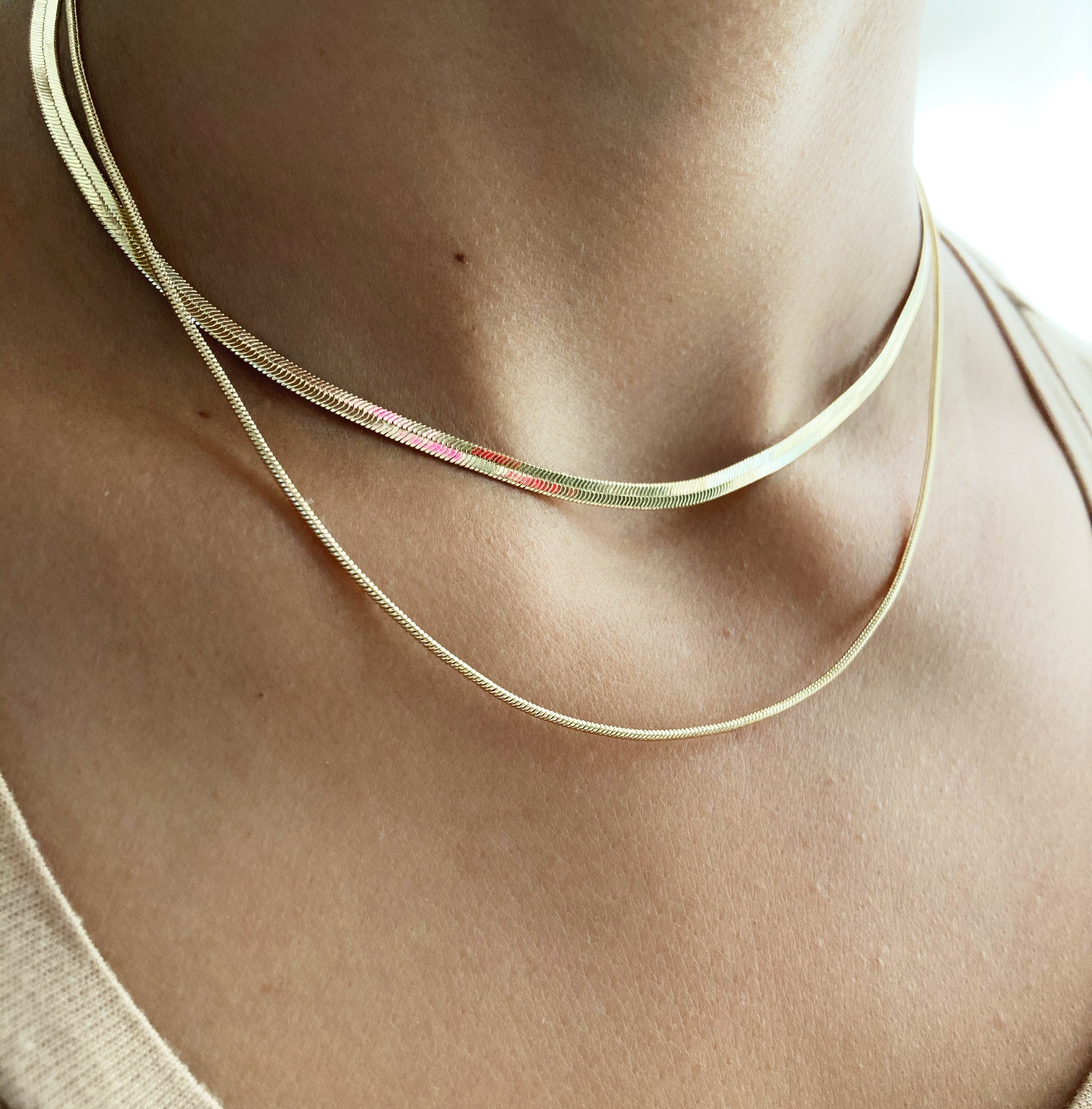 Collar triple Almendra