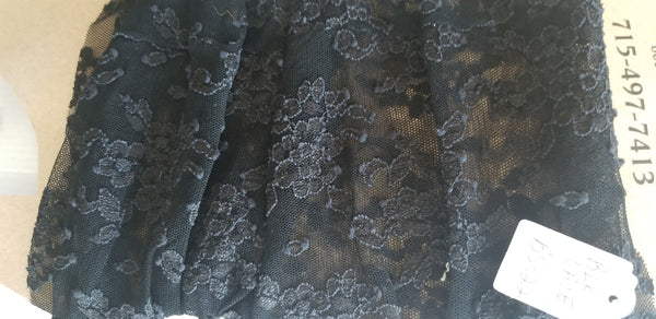 BootTube Black lace
