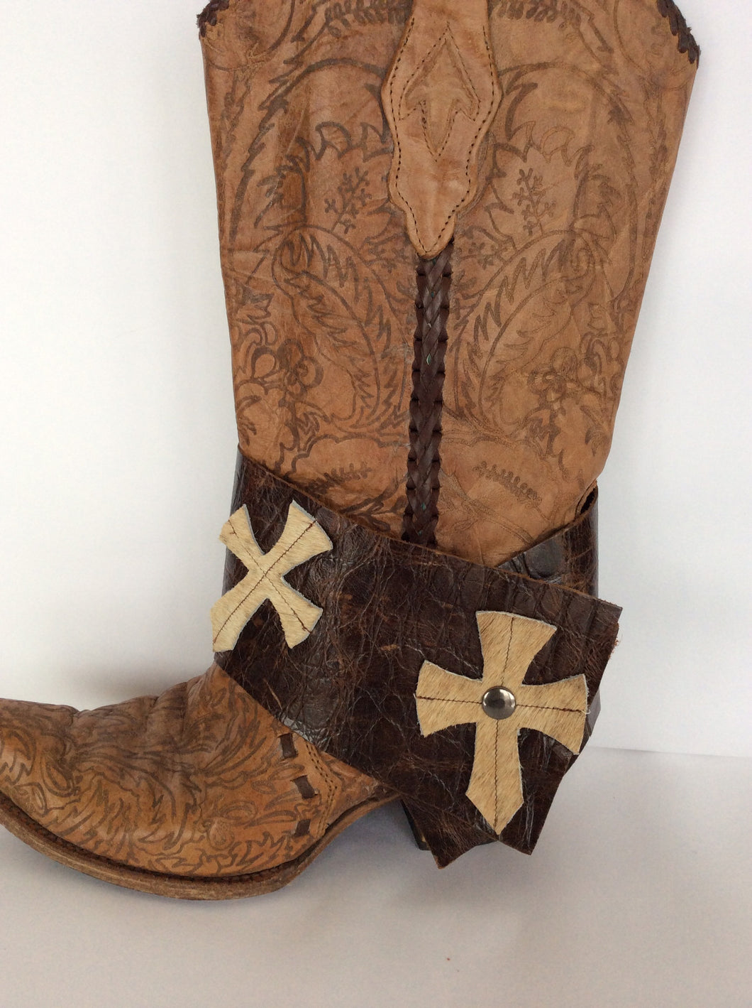 Leather/Cowhide Boot Snap