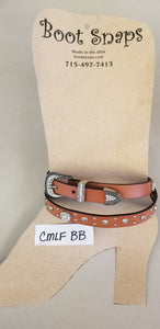 Boot Belt long Caramel