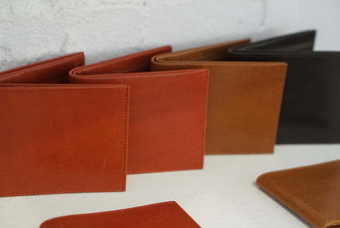 Leather Big Fold Wallet