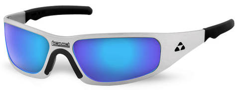 Gasket - polished frame - blue mirror polarized - LIQGKPOBL2JP