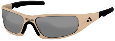 Gasket - desert tan frame - flash mirror polarized - LIQGKDTMR2JP