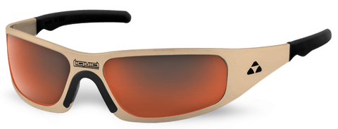 Gasket - desert tan frame - red mirror polarized - LIQGKDTRD2JP