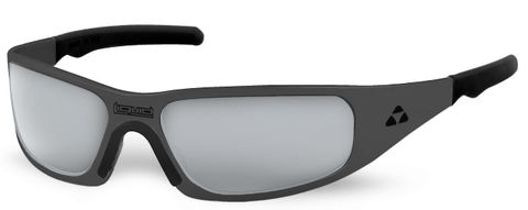 Gasket - matte black frame - flash mirror polarized - LIQGKMBMR2JP