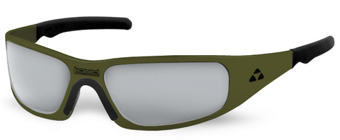 Gasket - olive drab green frame - flash mirror polarized - LIQGKODMR2JP